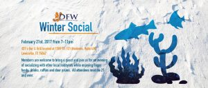 Winter Social, February 21st. @ T's Bar & Grill