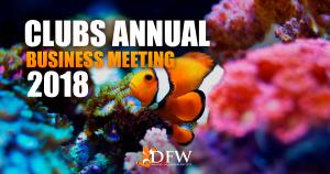 Club's annual business meeting Jun 13th 2018